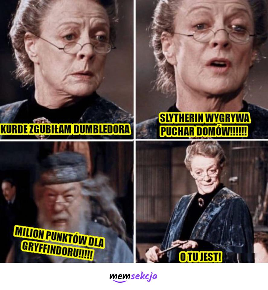 Jak znaleźć Dumbledora. Harry Potter. Albus  Dumbledore