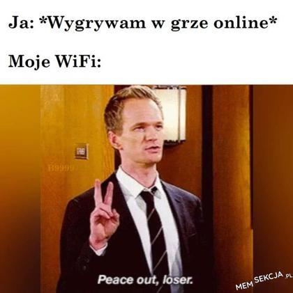 Moje Wi-fi kiedy wygrywam w grze online. Śmieszne. Barney  Stinson. Jak  Poznałem  Waszą  Matkę