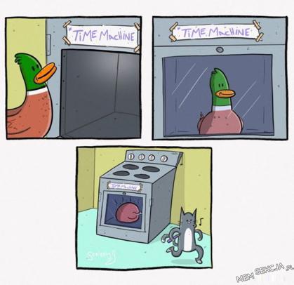 Wehikuł czasu - komiks