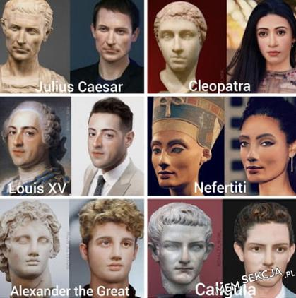 Jak wyglądali historyczni władcy?