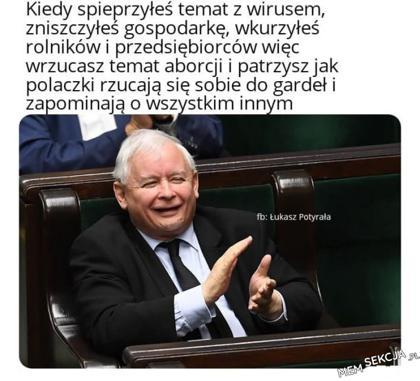 siędzie i patrzę jak Polska płonie