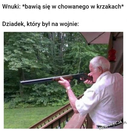 Dziadek, który był na wojnie