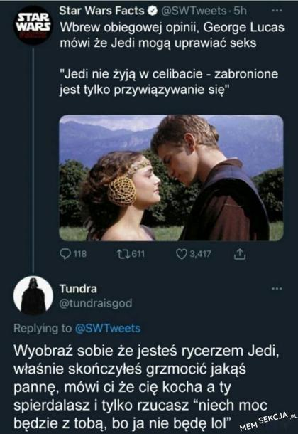 Jedi a seks