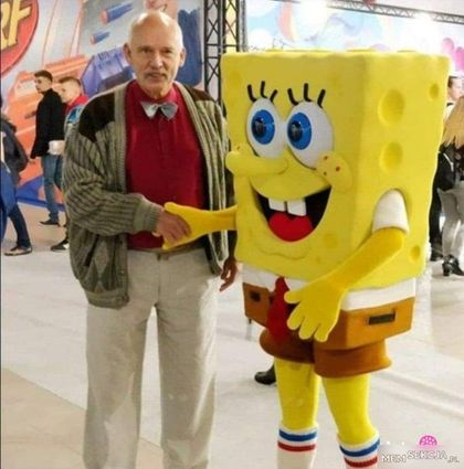 Korwin i Spongebob