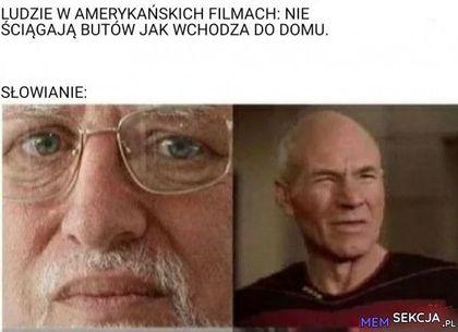 Ludzie w amerykańskich filmach nie