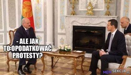 Morawiecki podsuwa ciekawy pomysł Łukaszence